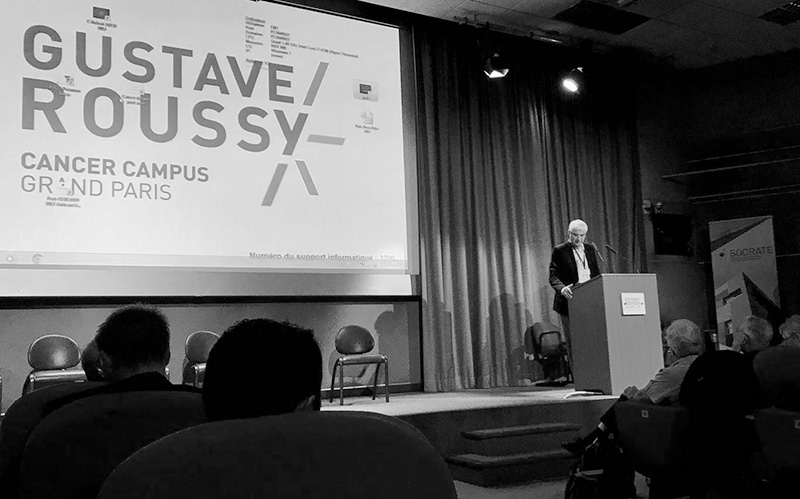 jjtrochon-conference-cancer-campusparis-GustaveRoussy-sante